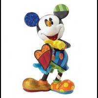 Romero Britto - Mickey Holding Heart Large Figurine