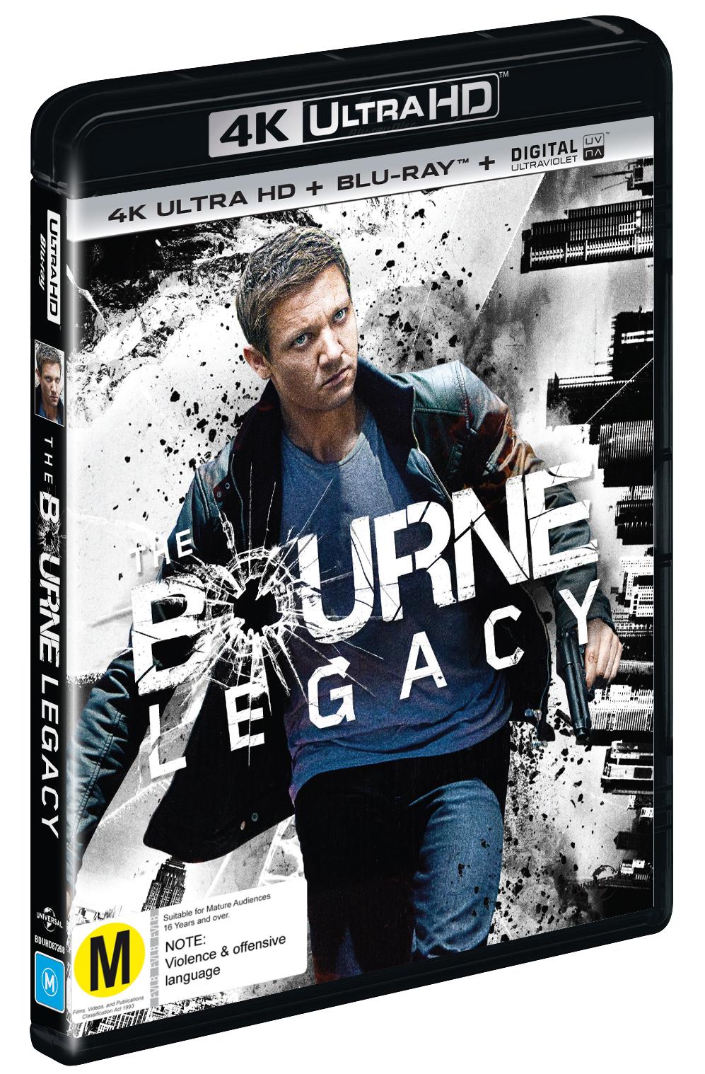 The Bourne Legacy on Blu-ray, UHD Blu-ray image