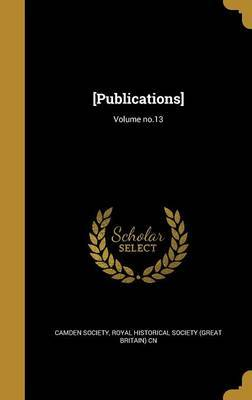 [Publications]; Volume No.13