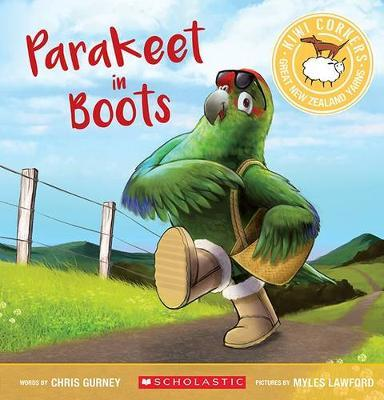 Kiwi Corkers: Parakeet in Boots by Chris Gurney image