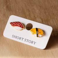 Short Story: Funky Play Earrings - Nigiri