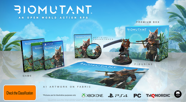 BioMutant Collector's Edition for Xbox One