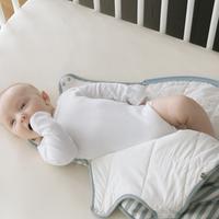 Woolbabe Duvet Side Zip Sleep Bag - Tide (3-24 Months) image