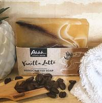 Ahhh Soaps Handcrafted Soap - Vanilla Latte (120g)