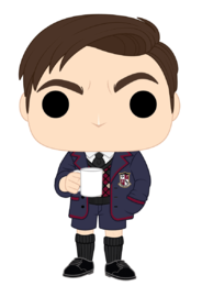 Umbrella Academy: Number Five (#5) - Pop! Vinyl Figure (with a chance for a Chase version!) image