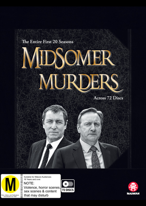 Midsomer Murders: Season 1 - 20 Collection (Limited Edition) on DVD