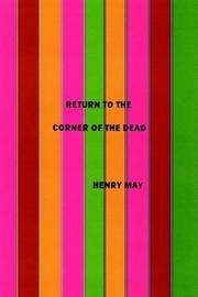 Return to the Corner of the Dead by Henry F. May image