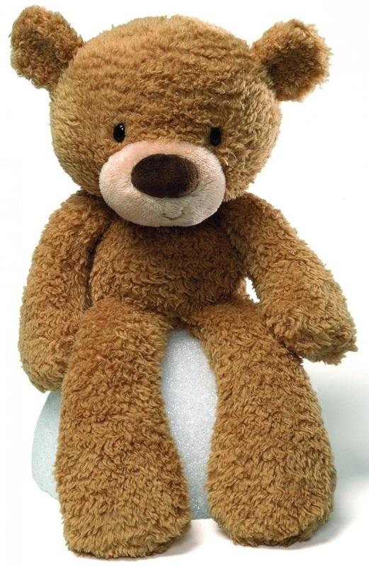 Gund: Fuzzy Bear - Beige