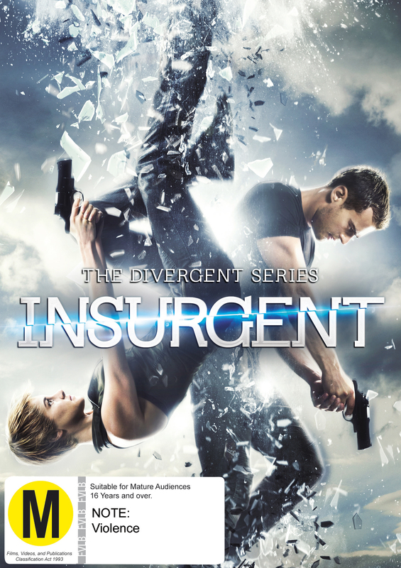 Insurgent on DVD