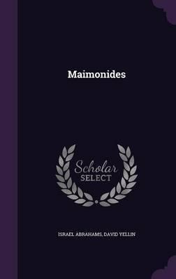 Maimonides by Israel Abrahams image