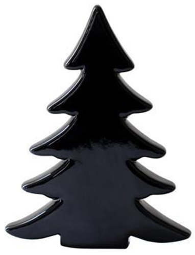 Small Scandic Ceramic Christmas Tree Black At Mighty Ape Nz