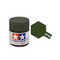 Tamiya Acrylic: Olive Green (XF58)