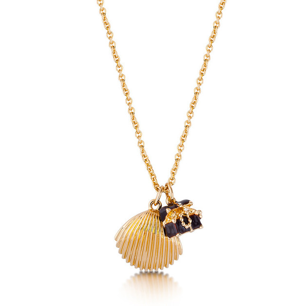 Couture Kingdom: Disney - The Little Mermaid Treasure Necklace (Yellow Gold)