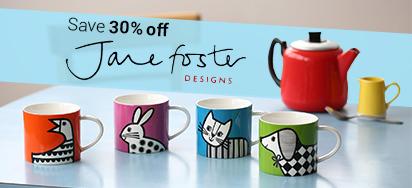 30% OFF Jane Foster Design!