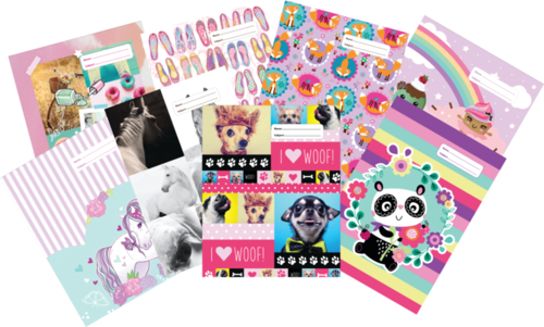 Spencil: 1B5 Book Cover Pastels (Assorted Designs)
