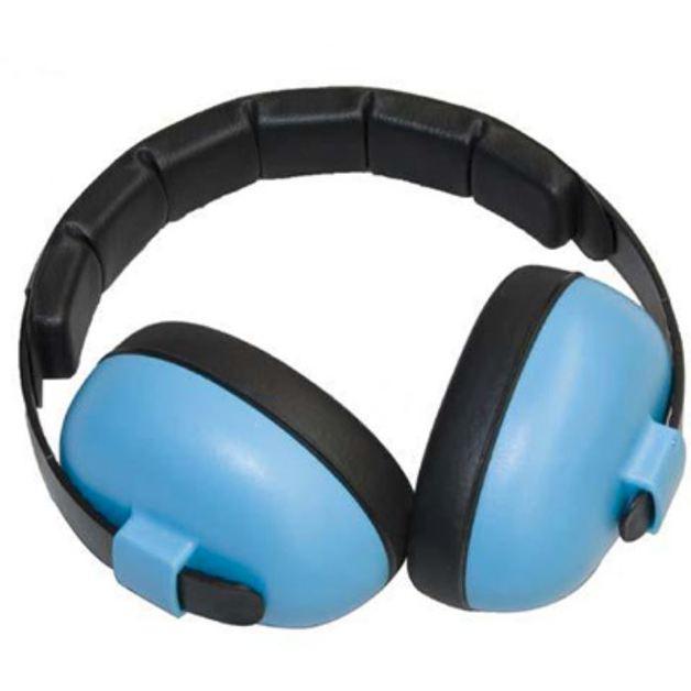 Banz Carewear: Safe 'n' Sound Bluetooth-Enabled Mini Muffs - Blue