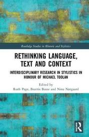 Rethinking Language, Text and Context image