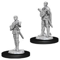 D&D Nolzur's Marvelous: Unpainted Miniatures - Female Half-Elf Bard