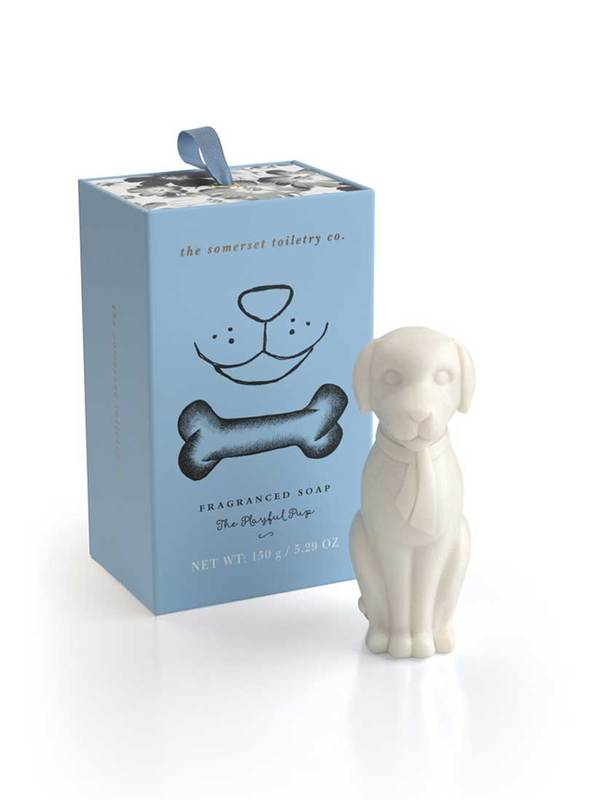 Animal Shaped Soap - Playful Pup Soap (150g)