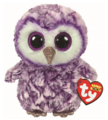 Ty Beanie Boo: Moonlight Owl - Small Plush