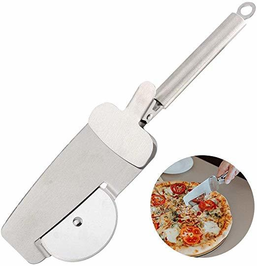 Ape Basics: 3-in-1 Stainless Steel Pizza Server Knife