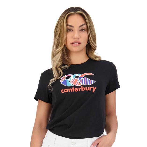Canterbury: Womens Uglies Tee - Black (Size 18)