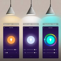 Smart Ape: 10W Colour & Warm/Cool White Smart Bulb (B22, Wi-Fi) - 1 Pack