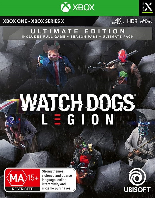 Watch Dogs Legion Ultimate Edition for Xbox Series X, Xbox One