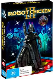 Robot Chicken: Star Wars Special - Episode 3 on DVD