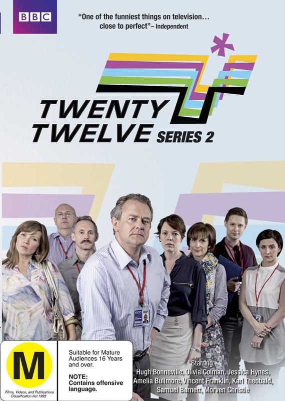 Twenty Twelve - Series 2 on DVD