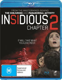Insidious: Chapter 2 on Blu-ray