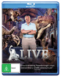 David Attenborough's Natural History Museum Alive on Blu-ray