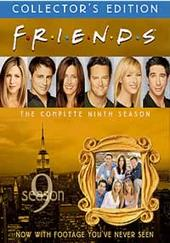 Friends - Season 9 Collector's Edition (NTSC) (4 Disc Box Set) on DVD