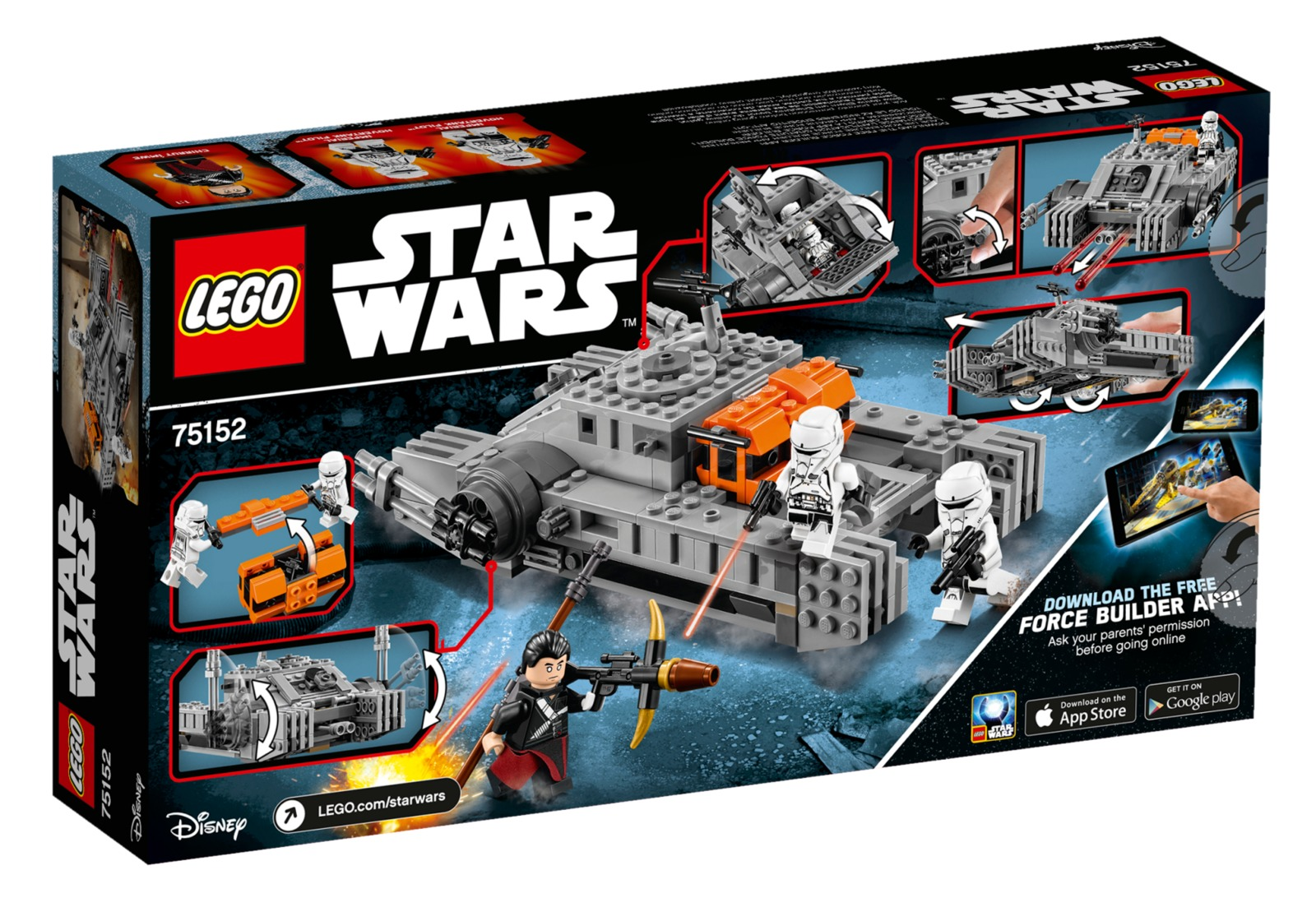 LEGO Star Wars: Imperial Assault Hovertank (75152) image
