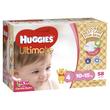 Huggies Ultimate Nappies: Jumbo Pack - Toddler Girl 10-15kg (58)
