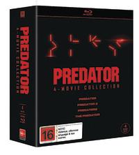 Predator 1-4 Boxset on Blu-ray