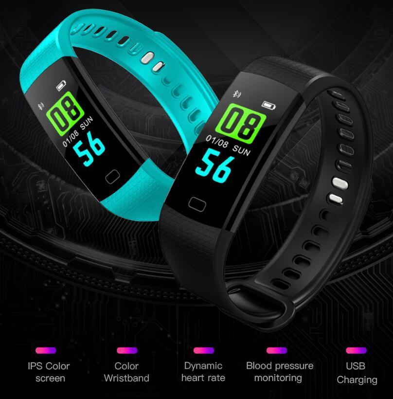 Unisex Sports Smartwatch - Black image