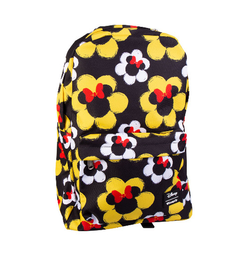 Loungefly: Mickey Mouse - Minnie Flower Print Backpack