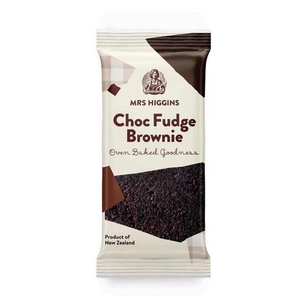 Mrs Higgins: Choc Fudge Brownie (80g) Pack of 9
