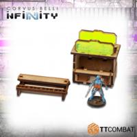TTCombat: Tabletop Scenics - Food Stalls image