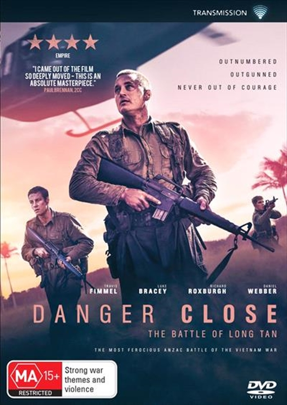 Danger Close: The Battle of Long Tan on DVD