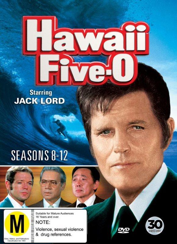 Hawaii 5-0 - Seasons 8-12 on DVD