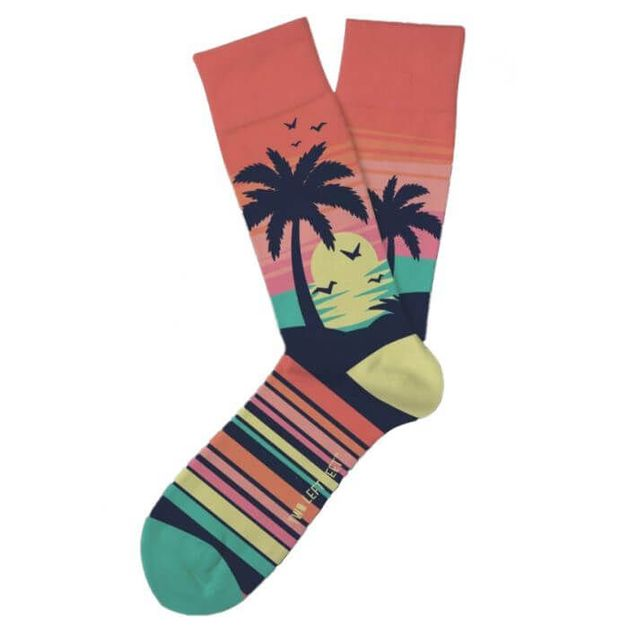 Two Left Feet: Rose All Day Socks - Small
