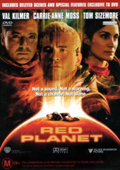 Red Planet on DVD
