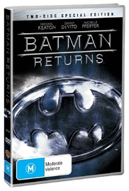 Batman Returns - Special Edition on DVD image