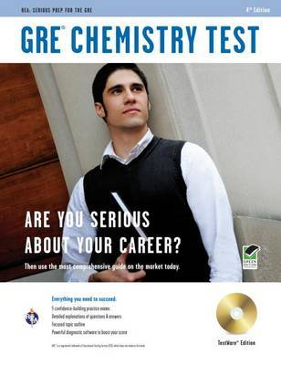 GRE Chemistry W/CD (Rea) - The Best Test Prep for the GRE Chemistry by Staff of Research Education Association image