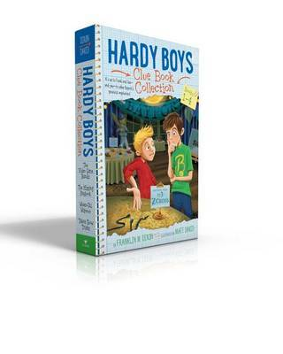 Hardy Boys Clue Book Collection Books 1-4 by Franklin W Dixon image