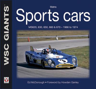 Matra Sports Cars by Ed McDonough