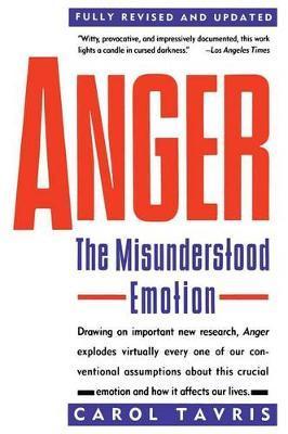 Anger: The Misunderstood Emotion by Carol Tavris image
