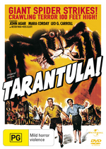 Tarantula! on DVD